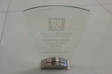 Industrial Biodynamics wins RBTC Rising Star Award